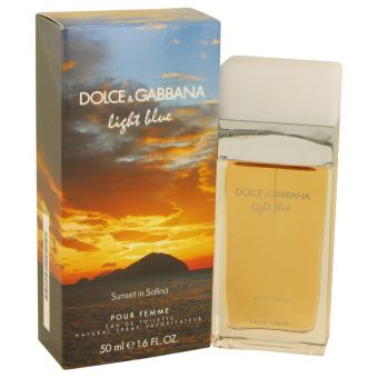 Image of   Light Blue Sunset in Salina by Dolce & Gabbana - Eau De Toilette Spray 50 ml - til kvinder