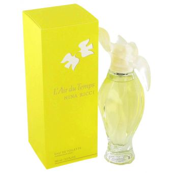 Image of   L'AIR DU TEMPS by Nina Ricci - Gift Set Five piece mini set includes Ricci Ricci, Nina L'eau, Mademoiselle Ricci, Nina, and L'air Du Temps. - til kvinder