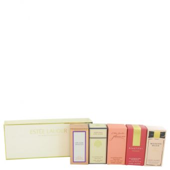 Image of   Sensuous by Estee Lauder - Gift Set Travel Mini Set Includes Modern Muse, Beautiful, Pleasures, White Linen and Sensuous - til kvinder