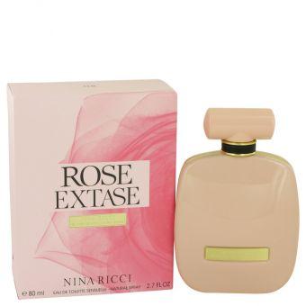 Image of   Rose Extase by Nina Ricci - Eau De Toilette Sensuelle Spray 80 ml - til kvinder