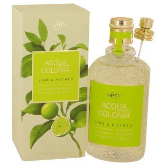 Image of   4711 Acqua Colonia Lime & Nutmeg by Maurer & Wirtz - Eau De Cologne Spray 169 ml - til kvinder