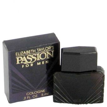 Image of   PASSION by Elizabeth Taylor - Mini Cologne (unboxed) .6 ml - til mænd