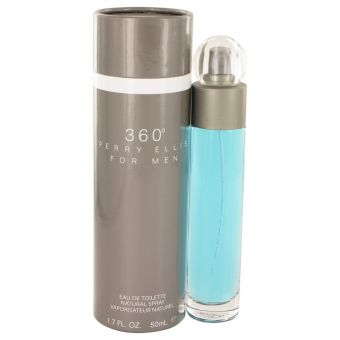 Image of   perry ellis 360 by Perry Ellis - Eau De Toilette Spray 50 ml - til mænd