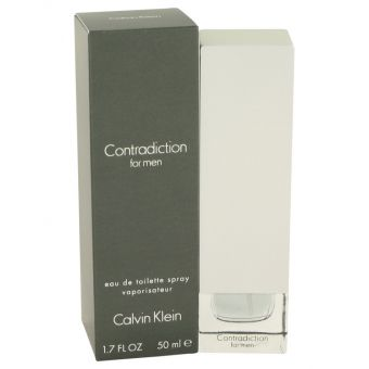 Image of   CONTRADICTION by Calvin Klein - Eau De Toilette Spray 50 ml - til mænd