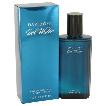 COOL WATER by Davidoff - Eau De Toilette Spray 75 ml - til mænd