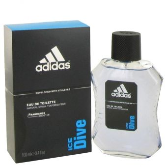 Image of   Adidas Ice Dive by Adidas - Eau De Toilette Spray 100 ml - til mænd