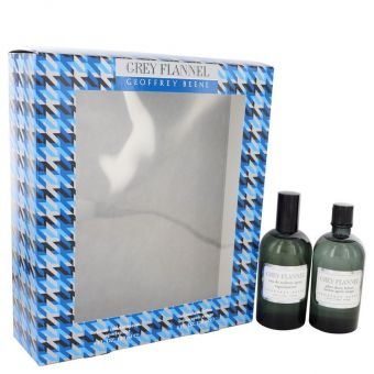 Image of   GREY FLANNEL by Geoffrey Beene - Gift Set Eau De Toilette Spray + After Shave - til mænd