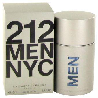 Image of   212 by Carolina Herrera - Eau De Toilette Spray (New Packaging) 50 ml - til mænd