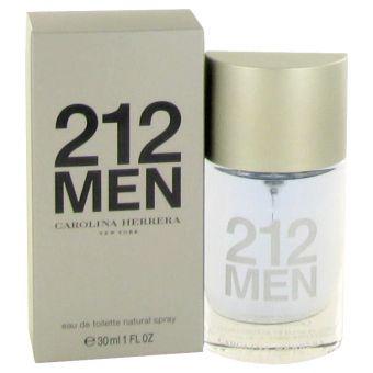 Image of   212 by Carolina Herrera - Eau De Toilette Spray (New Packaging) 30 ml - til mænd