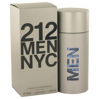 Image of   212 by Carolina Herrera - Eau De Toilette Spray (New Packaging) 100 ml - til mænd