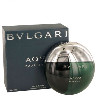 Image of   AQUA POUR HOMME by Bvlgari - Eau De Toilette Spray 100 ml - til mænd