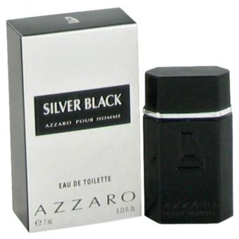 Image of   Silver Black by Azzaro - Mini EDT .7 ml - til mænd