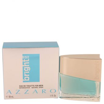Image of   Azzaro Bright Visit by Azzaro - Eau De Toilette Spray 30 ml - til mænd