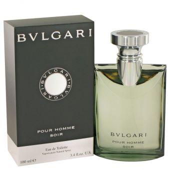 Image of   Bvlgari Pour Homme Soir by Bvlgari - Eau De Toilette Spray 100 ml - til mænd