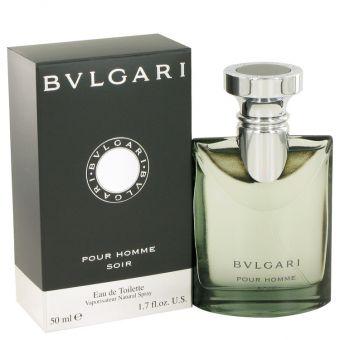 Image of   Bvlgari Pour Homme Soir by Bvlgari - Eau De Toilette Spray 50 ml - til mænd