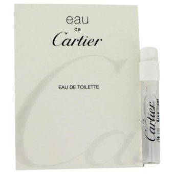 Image of   EAU DE CARTIER by Cartier - Vial (Unisex sample) .1 ml - til mænd