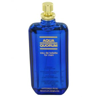 Image of   AQUA QUORUM by Antonio Puig - Eau De Toilette Spray (Tester) 100 ml - til mænd