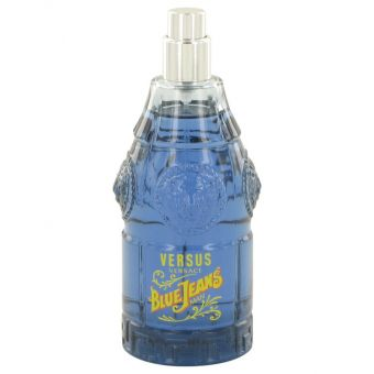 Image of   BLUE JEANS by Versace - Eau De Toilette Spray (Tester New Packaging) 75 ml - til mænd