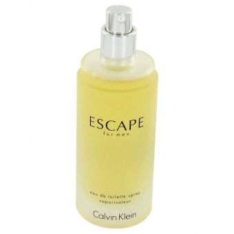 Image of   ESCAPE by Calvin Klein - Eau De Toilette Spray (Tester) 100 ml - til mænd