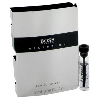 Image of   Boss Selection by Hugo Boss - Vial (sample) .2 ml - til mænd
