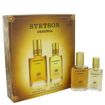 Image of   STETSON by Coty - Gift Set Cologne + . After Shave - til mænd