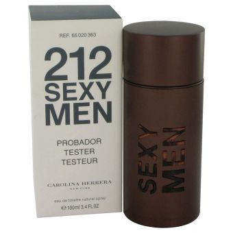 Image of   212 Sexy by Carolina Herrera - Eau De Toilette Spray (Tester) 100 ml - til mænd