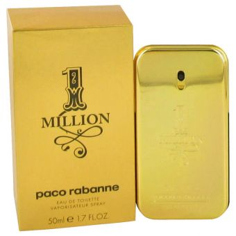 Image of   1 Million by Paco Rabanne - Eau De Toilette Spray 50 ml - til mænd