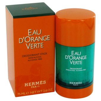 Image of   EAU D'ORANGE VERTE by Hermes - Deodorant Stick (Unisex) 75 ml - til mænd
