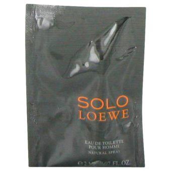 Image of   Solo Loewe by Loewe - Vial (sample) .2 ml - til mænd
