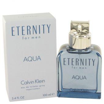 Image of   Eternity Aqua by Calvin Klein - Eau De Toilette Spray 100 ml - til mænd