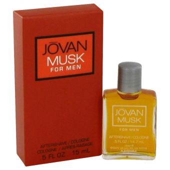 Image of   JOVAN MUSK by Jovan - Aftershave/Cologne .15 ml - til mænd