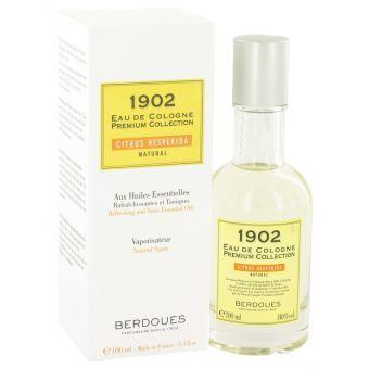 Image of   1902 Natural by Berdoues - Eau De Cologne Spray (Unisex) 100 ml - til mænd