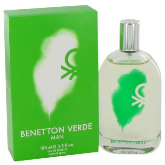 Image of   Benetton Verde by Benetton - Eau De Toilette Spray 100 ml - til mænd