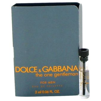 Image of   The One Gentlemen by Dolce & Gabbana - Vial (sample) .2 ml - til mænd