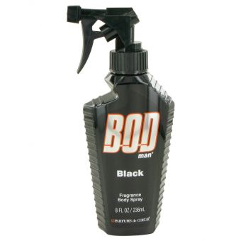 Image of   Bod Man Black by Parfums De Coeur - Body Spray 240 ml - til mænd