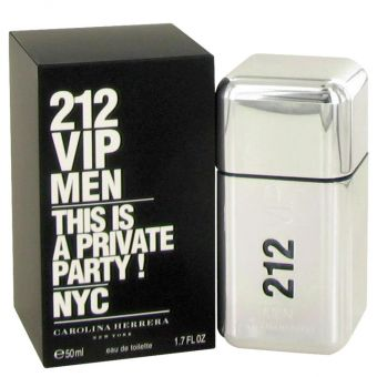 Image of   212 Vip by Carolina Herrera - Eau De Toilette Spray 50 ml - til mænd