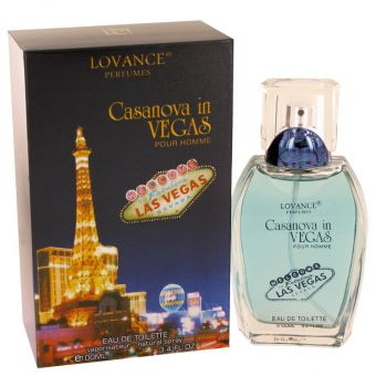 Image of   Casanova in Vegas by Lovance - Eau De Toilette Spray 100 ml - til mænd