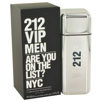 Image of   212 Vip by Carolina Herrera - Eau De Toilette Spray 100 ml - til mænd
