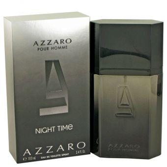 Image of   Azzaro Night Time by Azzaro - Eau De Toilette Spray 100 ml - til mænd
