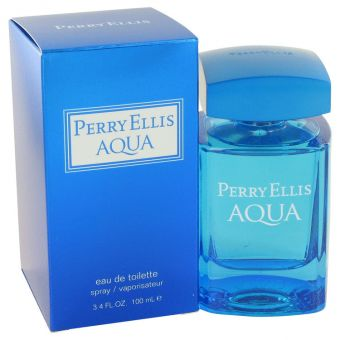 Image of   Perry Ellis Aqua by Perry Ellis - Eau De Toilette Spray 100 ml - til mænd