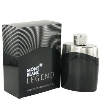 Image of   MontBlanc Legend by Mont Blanc - Eau De Toilette Spray 100 ml - til mænd