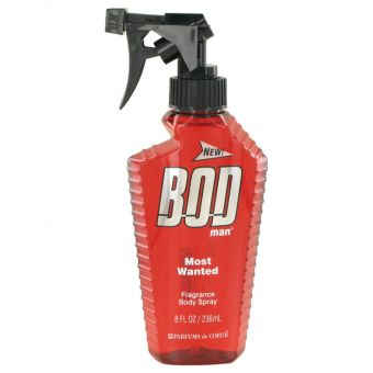 Image of   Bod Man Most Wanted by Parfums De Coeur - Fragrance Body Spray 240 ml - til mænd