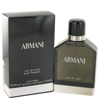 Image of   Armani Eau De Nuit by Giorgio Armani - Eau De Toilette Spray 100 ml - til mænd