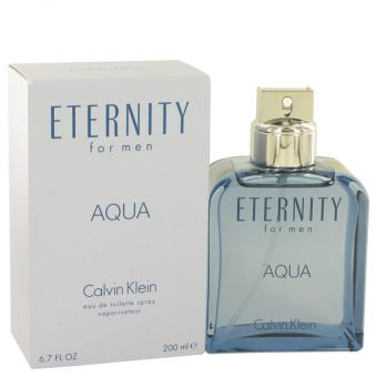 Image of   Eternity Aqua by Calvin Klein - Eau De Toilette Spray 200 ml - til mænd