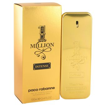Image of   1 Million Intense by Paco Rabanne - Eau De Toilette Spray 100 ml - til mænd