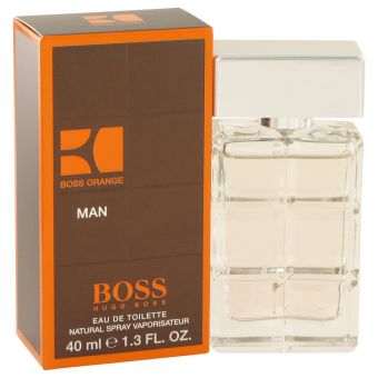 Image of   Boss Orange by Hugo Boss - Eau De Toilette Spray 41 ml - til mænd