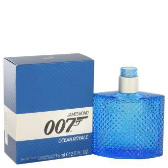 Image of   007 Ocean Royale by James Bond - Eau De Toilette Spray 75 ml - til mænd
