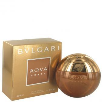 Image of   Bvlgari Aqua Amara by Bvlgari - Eau De Toilette Spray 100ml - til mænd
