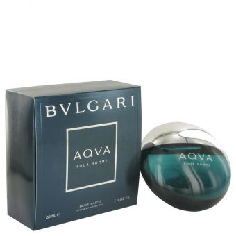 Image of   AQUA POUR HOMME by Bvlgari - Eau De Toilette Spray 150 ml - til mænd