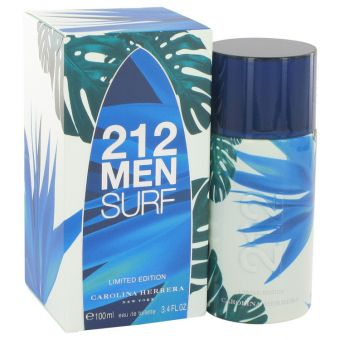 Image of   212 Surf by Carolina Herrera - Eau De Toilette Spray (Limited Edition 2014) 100 ml - til mænd